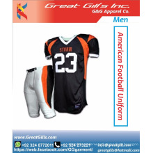 Pro-cut American football uniforms / sublimated american jersey & uniforms football
