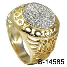 Joyería al por mayor del anillo del hombre de fábrica plata 925