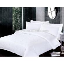 Jacquard estilo cama de dormitorio conjunto de cama y juego de sábanas de China fabricante