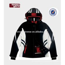 Moda e Casual marcas de jaqueta de esqui europeu para homens, jaqueta de inverno ao ar livre / esqui e jaquetas de neve para homens