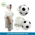Imperméable de Football PVC jetable