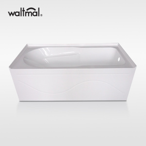 Elegance Skirted Bathtub with Double Tiling Flange
