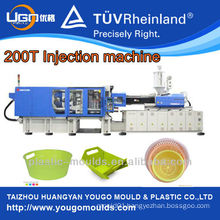 hand plastic injection moulding machine with servo system in China