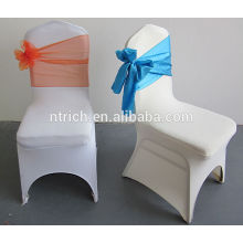 Stretch polyester wedding chair covers