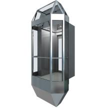 Elevador de observação em forma de diamante (KJX-104G)