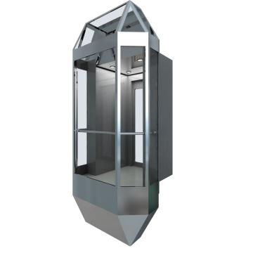 Construction Material Observation Elevator