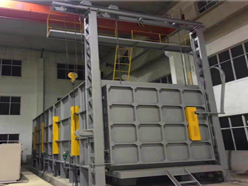 car type annealing furnace installation