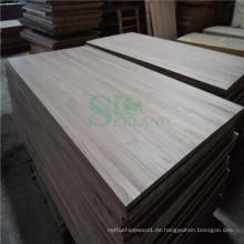 Schwarznuss Holznutzung auf solide Verkleidung