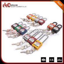 Elecpopular Customized Security Safety Locking Padlock com etiqueta de perigo
