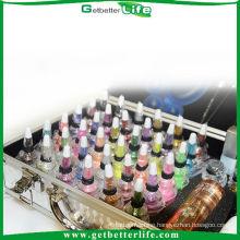 2015 Professional temporary tattoo glitter tattoo kit, Body Art Deluxe Kit (38color)/permanent glitter tattoos