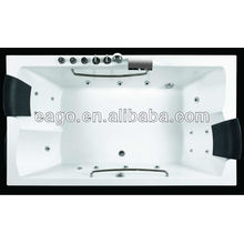 AM185RD BUILT-IN TYPE MASSAGE BATHTUB FOR TWO PERSONS