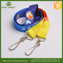 Hot Selling High Quality Promotional Custom Polyester Lanyard With J-hook