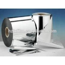 Película PET de alta barrera revestida de plata