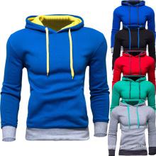 Hoodies de sweatshirt de coton d'OEM d'hommes d'usine Hoodies d'ouatine de coton