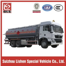HOWO fuel tank truck 20000L-25000L