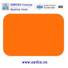 Pulverlackfarbe von Orange