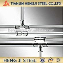 Tubo de acero galvanizado caliente para la transferencia del agua;