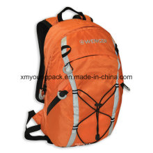 "Fashion Orange 420d Ripstop Nylon 15"" Outdoor Backpack"