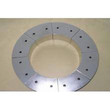 Постоянный дуговой сегмент неодимового магнита для ветрогенератора с никелевым покрытием