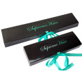 Customized Hair Extension Paper Box with PVC Window