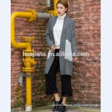 2017 Mode Frau Kaschmir stricken Mantel