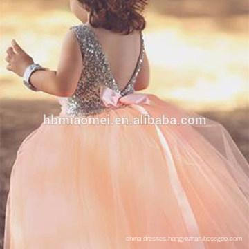 Soft Tulle Flower Girl Dress Patterns Baby Girl Dress for Arts Performance Costume