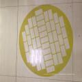Pièces d'usinage de plaques de fibre de verre époxy jaunes