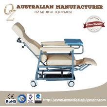 Cadeira médica da aposentadoria da cadeira profissional da aposentadoria do centro de cuidados médicos Cadeira manual da casa do lar de idosos da cadeira do cuidado da idade