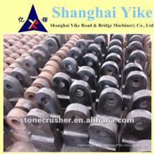 Huile de manganèse haute en fonte jianshe broyeur de marteau pièces de rechange tête de marteau