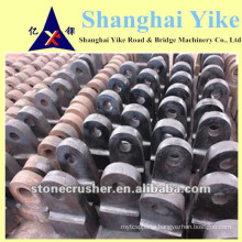 high manganese steel cast jianshe hammer crusher spare parts hammer head