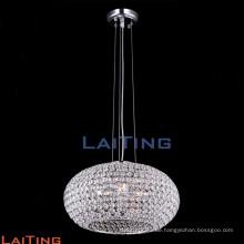 Zeitgenössische Hotel Globus Pendelleuchten Esszimmer Luxus Kristall Kronleuchter 71102