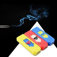 2016 Kundenspezifisches elektrisches Feuerzeug-Plastik USB-Aufladungs-Feuerzeug