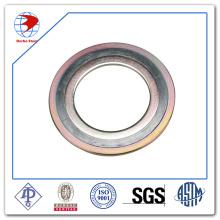 Joint enroulé en spirale ASME B16.20 Ss304 / Graphite avec joints d'étanchéité en acier CS