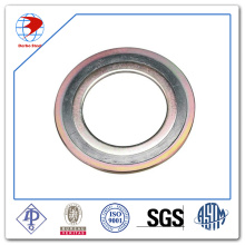 Spiral Wound Gasket ASME B16.20 Ss304/Graphite with CS Outer Ring Material Gaskets