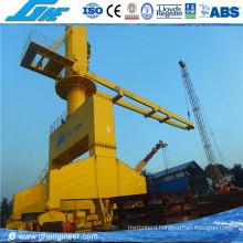Hydraulic Rail Mounted Mobile Port Crane