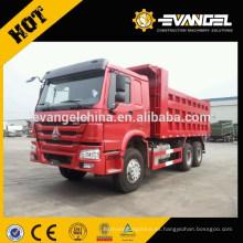 China fabricó un camión volquete de 25 toneladas de la serie Sinotruck Howo