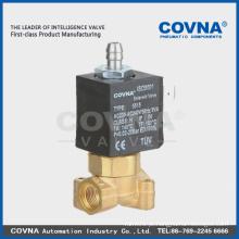 Válvula solenóide de 3 vias para electrodomésticos pequenos electroválvula de latão