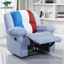 Made in China Reclining Fabric Sofa Color Combinations for Sofa Set