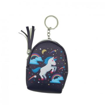 UNICORN COIN PURSE KEYRING-0