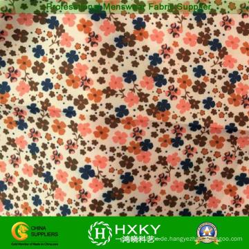 Polyester-Blumen-Druckgewebe für Kleidungs-Jacken