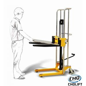 Customized light-duty pallet stacker