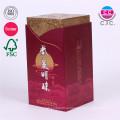 высокое качество изготовленный на заказ бумажная коробка вина картона с крышкой