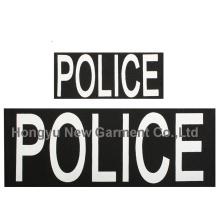 Police Patch Ensemble de deux crochets arrière (HY-PE007)