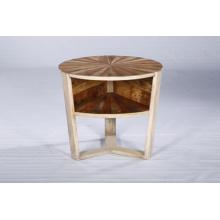 Table d'appoint en bois moderne en bois massif de haute qualité