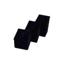 Heißer verkaufender schwarzer Samt-Schmucksache-Ring-Ausstellungsstand (RST-3BF1)