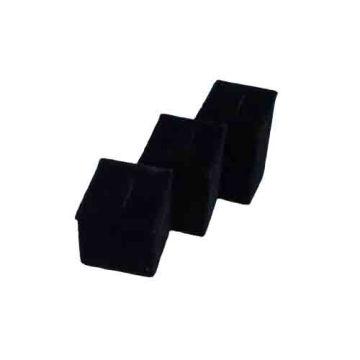Горячий продавая черный экран вешалки ювелирных изделий стойки дисплея (RST-3BF1)