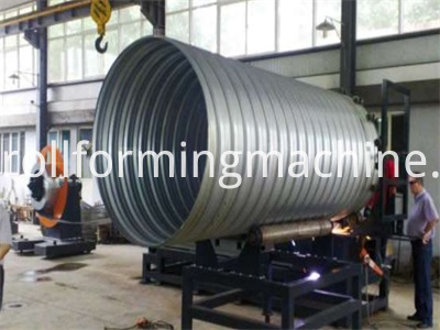 Culvert Pipe Roll Forming Machines