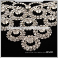 Großhandel Rhinestone Patch Kragen Hals für Hochzeit Dekoration