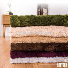 Tapis de tapis de lancer de polyester faisant la décoration pour la maison