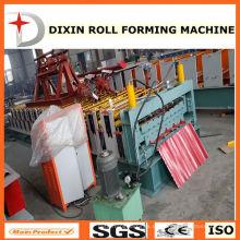 Panel de techo automático Máquina de rodillo de doble capa que forma la máquina